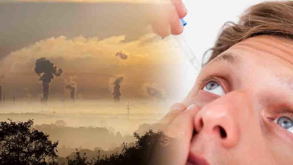 Inflamaciones, quemazón o conjuntivitis: los problemas oculares por la contaminación