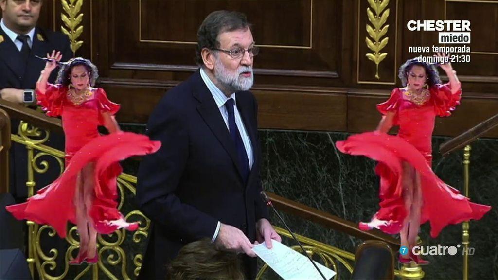Tontimer Weber se pasa a la política con unas sevillanas de Rajoy 💃