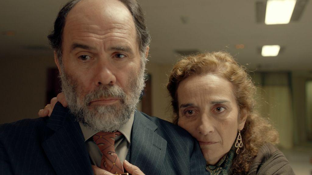 Imágenes del primer capítulo de 'El accidente' , serie protagonizada por Inma Cuesta y Quim Gutiérrez.