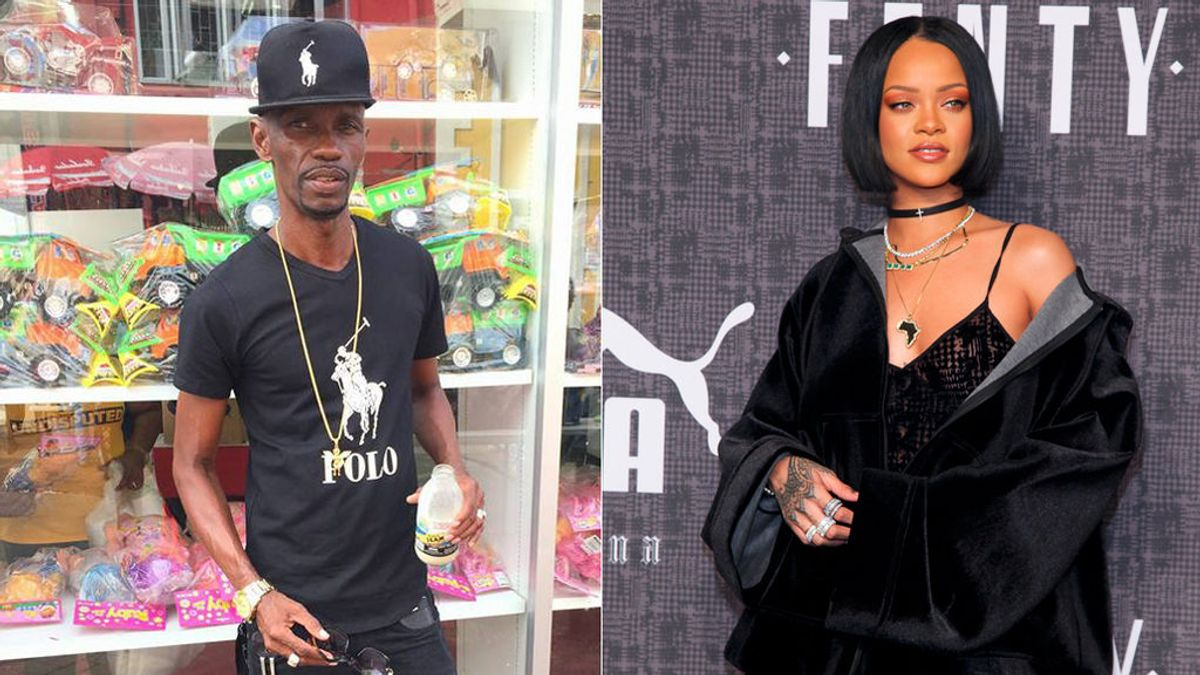 Arrestan al tío de Rihanna por vender imitaciones de las prendas que ella misma diseña