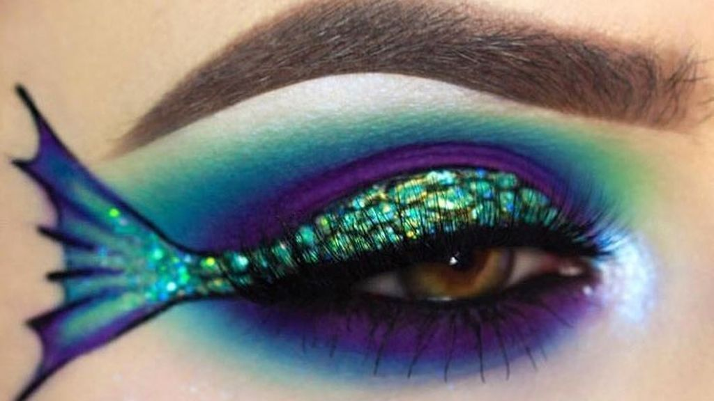 El 'mermeidliner': la nueva moda de maquillaje que arrasa en Instagram