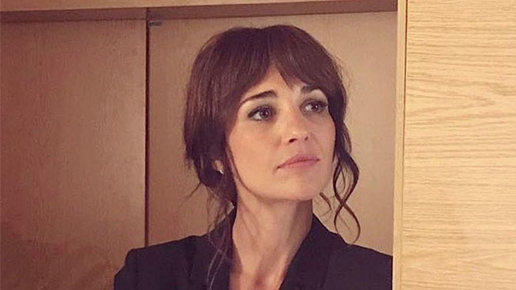 Nariz rota y magulladoras: el impresionante aspecto de Paula Echevarría durante el rodaje de Ola de Crímenes
