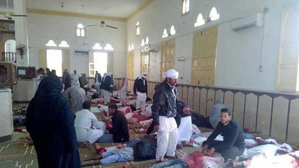 Aviones de combate egipcios bombardean Sinaí del Norte