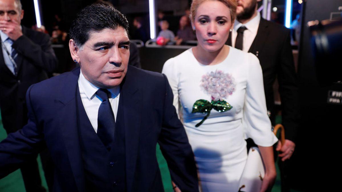 Maradona pide cárcel para su hija Gianinna en el juicio contra su exmujer