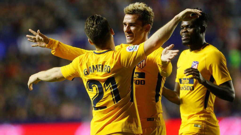 El Atlético de Madrid se da un festín ante el Levante (0-5)