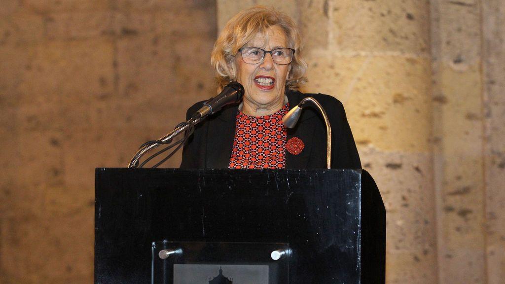 Carmena asegura que a la ciudad Madrid se le sigue identificando con el régimen franquista