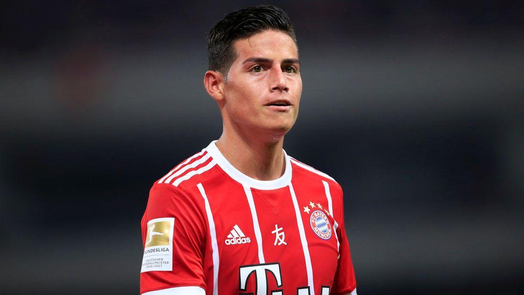 """James Rodríguez sufre una conmoción cerebral con el Bayern: """"No recordaba el resultado"""""""