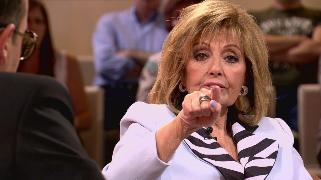 """El """"recadito"""" de Mª Teresa a Ana Rosa Quintana que deja sin palabras a Risto"""