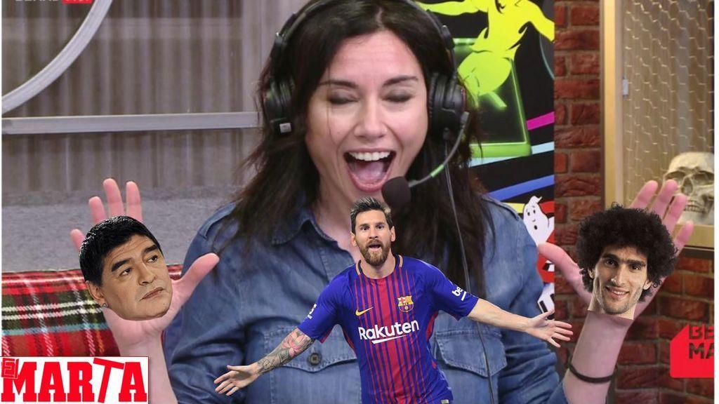 """Marta Flich se pone 'canchera'... con el nuevo contrato de """"Leo Marte"""" y la última disputa familiar de Maradona"""