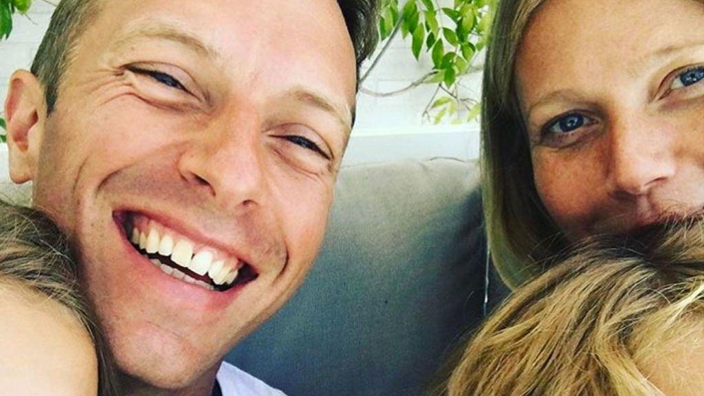 Esto sí que es una #modernfamily: la adorable foto de Gwyneth Paltrow con su futuro marido y su ex