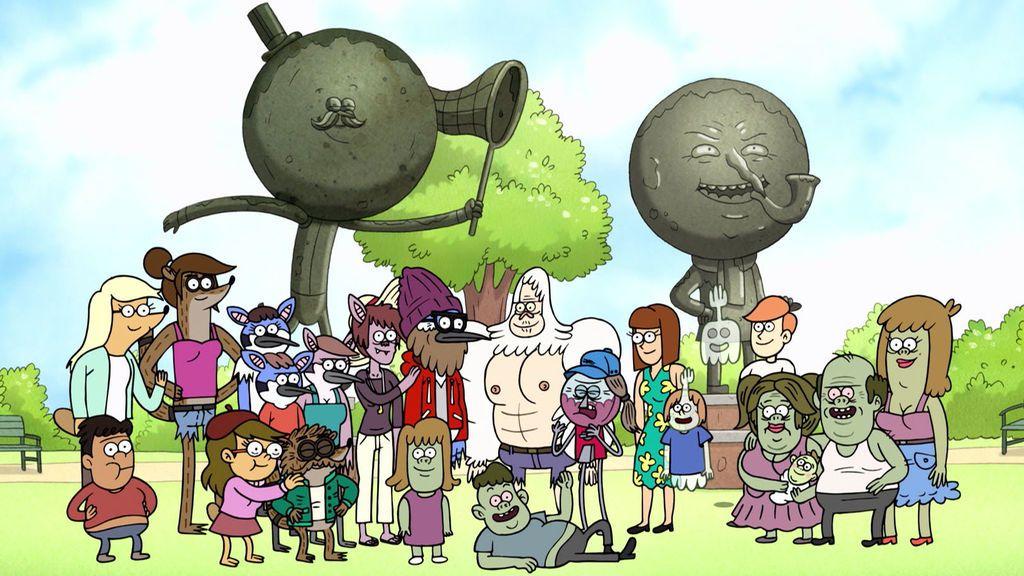 Personajes de la serie de animación 'Historias corrientes'.