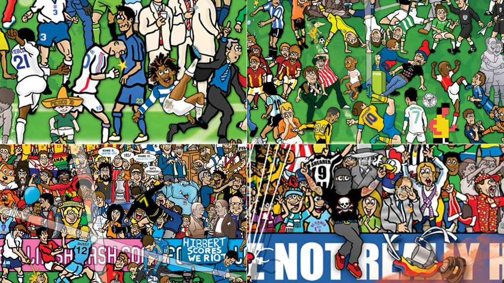 La historia del fútbol contada como nunca la has visto: 500 historias ilustradas al detalle