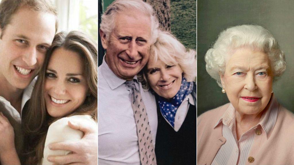"""""""Estamos encantados"""": así han reaccionado la Reina Madre, los Duques de Cambridge y los padres de Meghan a la 'royal wedding'"""