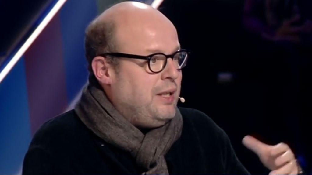 El periodista Salvador Sostres en '¿Cómo lo ves?', programa de TVE presentado por Carlos Herrera.