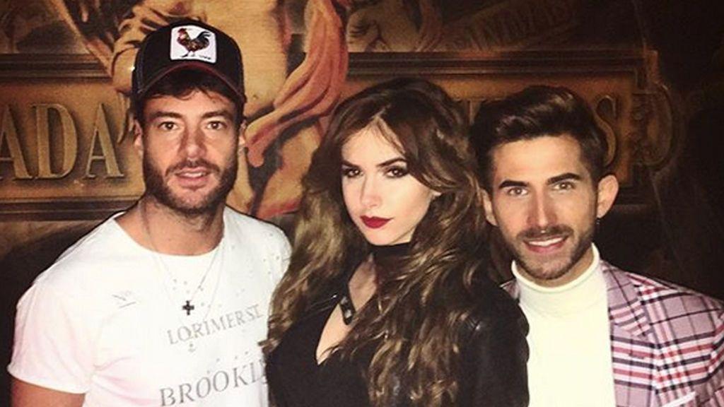 ¡No se pierde una! Alessandro Livi se va de fiesta con Carlota y Dani de 'GH Revolution'