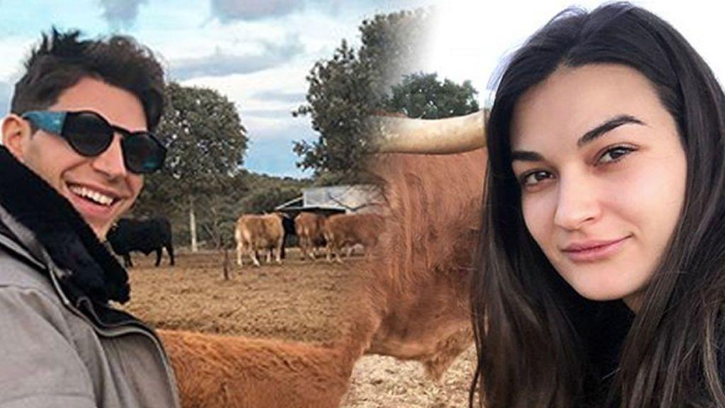La naturaleza y Estela Grande devuelven la sonrisa a Diego Matamoros