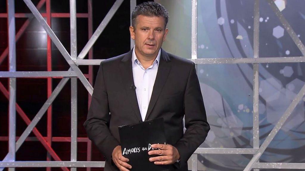 Roberto Arce, presentador de 'Amores que duelen'.