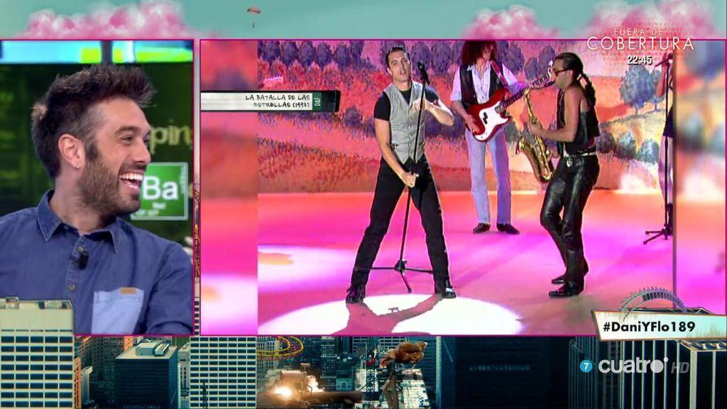 ¡OMG! Dani y Flo recuperan los inicios como cantante de Jesús Vázquez 😱