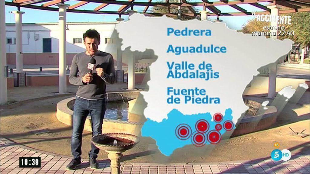 Rabaneda visita Pedrera, una de las zonas más afectadas por la sequía en Andalucía