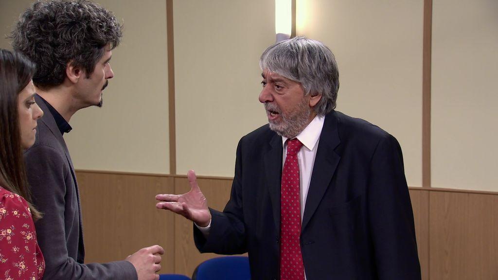 ¡A Vicente le da un infarto en el juzgado!
