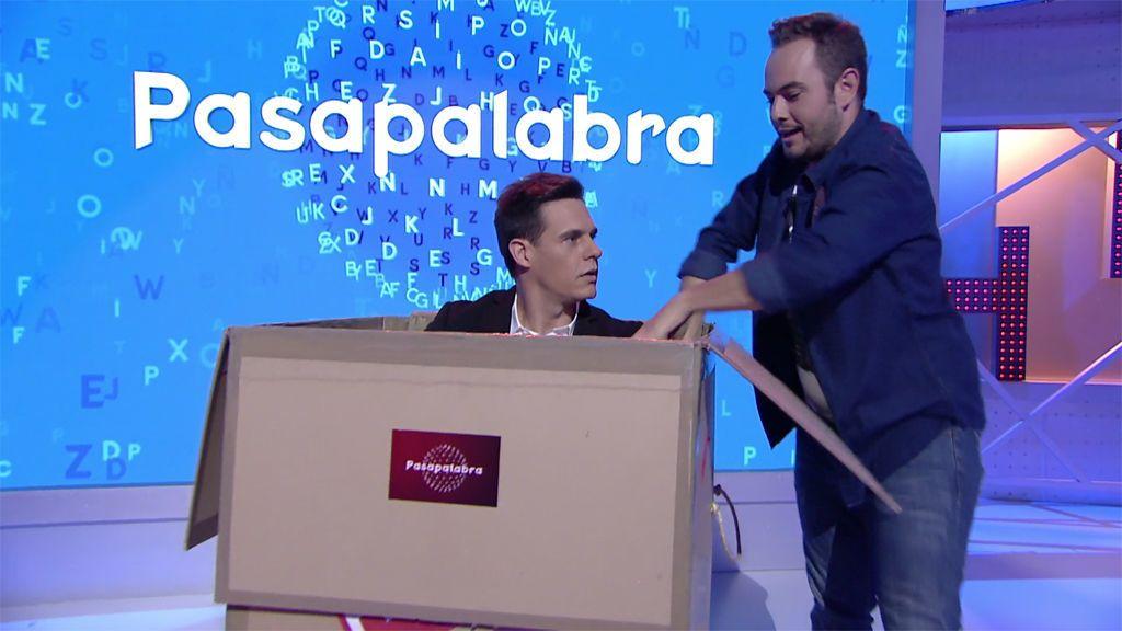 ¡Increíble! El truco de magia de Jorge Blass para la final de la 'Supercopa de Pasapalabra'