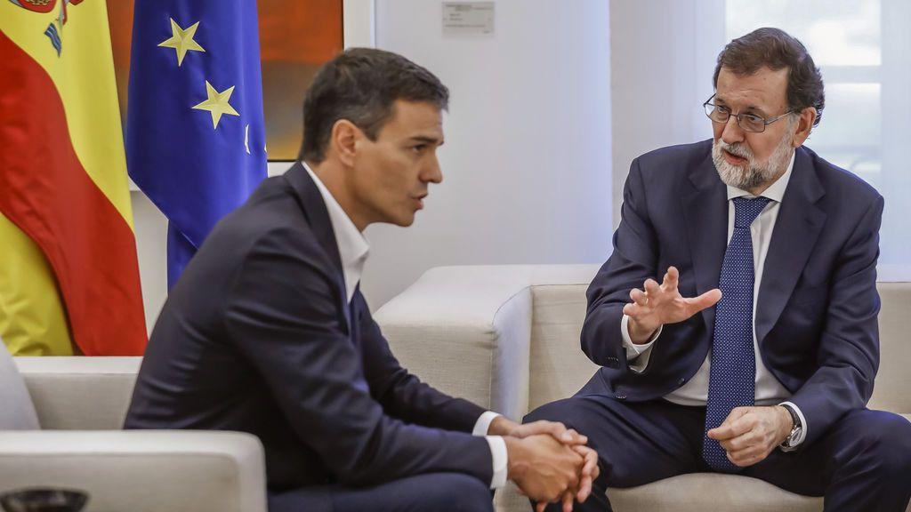 """Sánchez pide a Rajoy a que """"cumpla su palabra"""" sobre la reforma de la Constitución"""