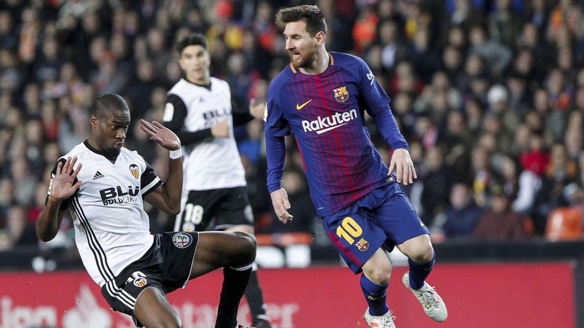 Una conocida casa de apuestas da por válido el gol de Messi al Valencia