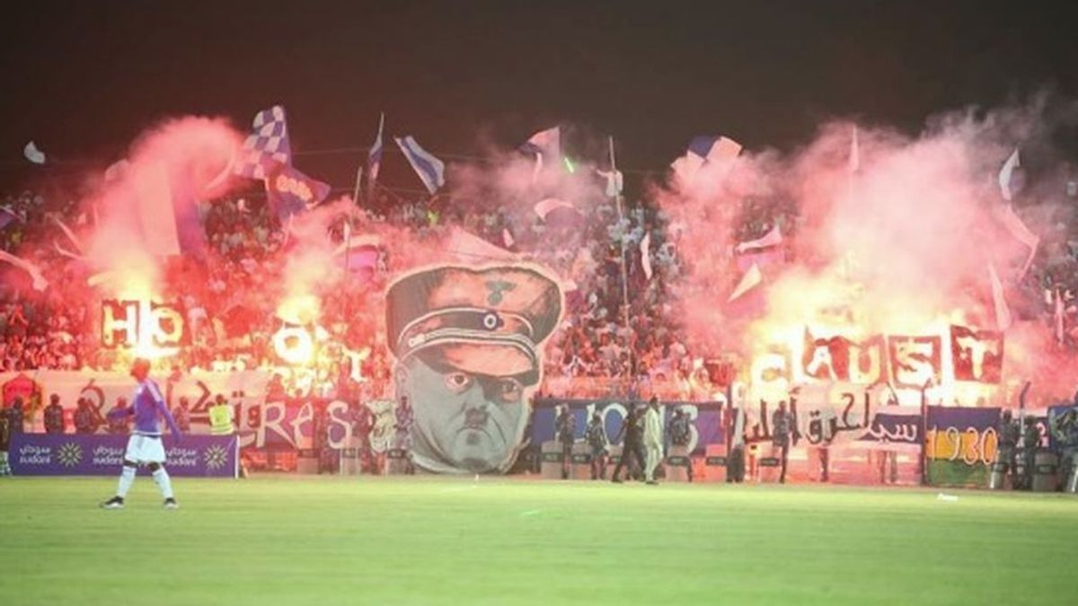 El deleznable homenaje a Hitler en un partido en la liga de Sudán