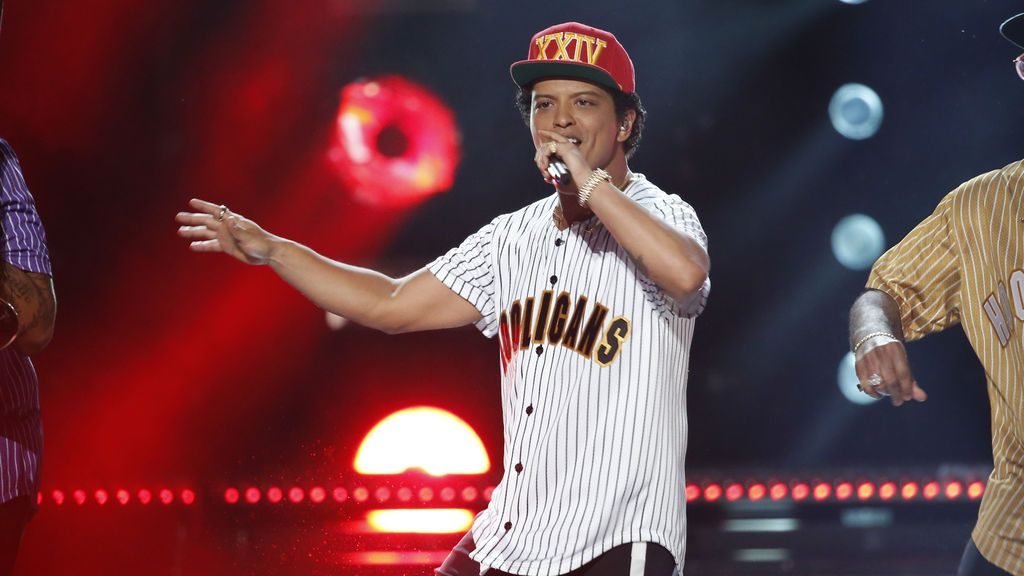 Bruno Mars actuará en Barcelona y Madrid