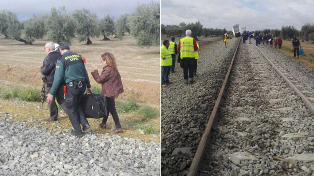 Descarrilamiento tren Málaga-Sevilla