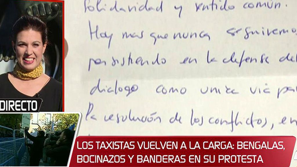 """Talegón ha recibido una carta de Cuixart: """"Demuestra que defiende el diálogo, la paz y el respeto"""""""
