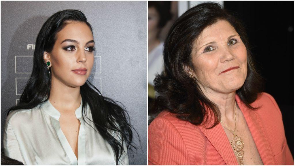 A Georgina Rodríguez se le van las manos con su suegra, Dolores Aveiro, por culpa de Cristiano
