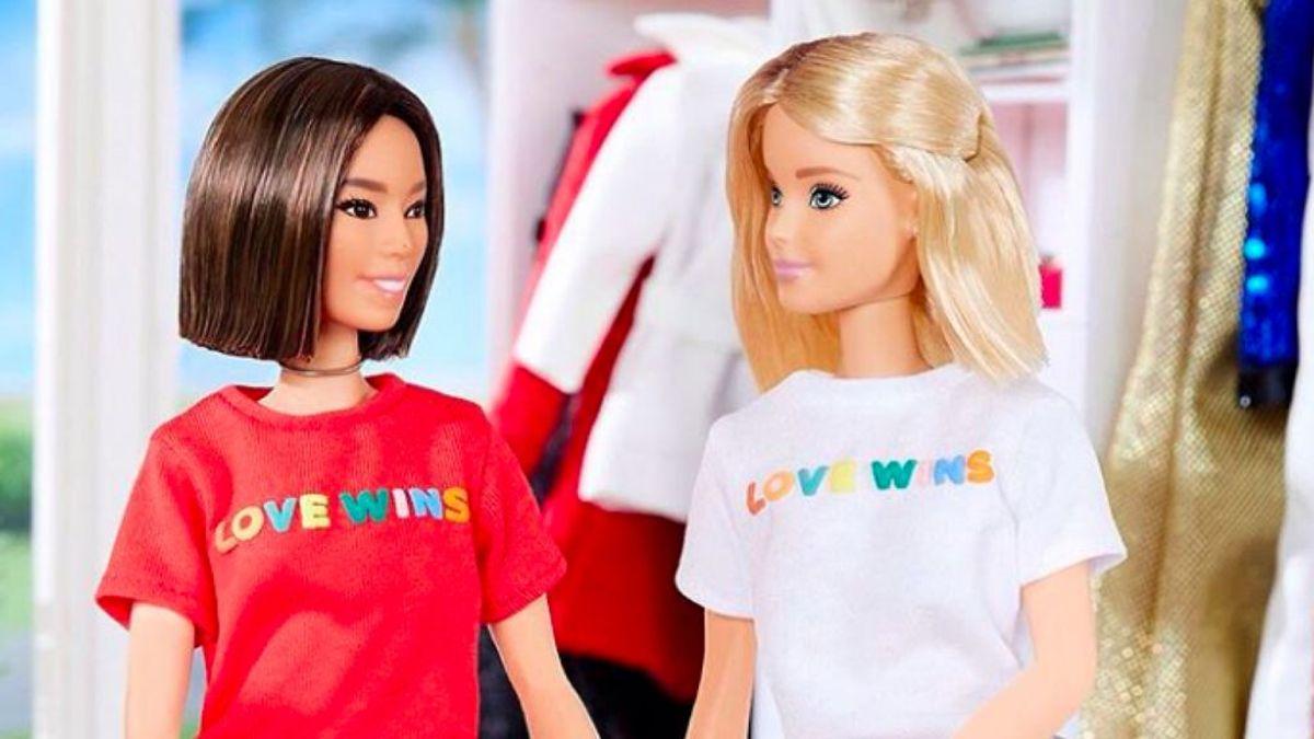 Crush: Barbie se suma al Love Wins