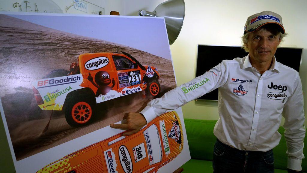 La última 'locura' de Jesús Calleja: confirma que correrá el Rally Dakar 2018