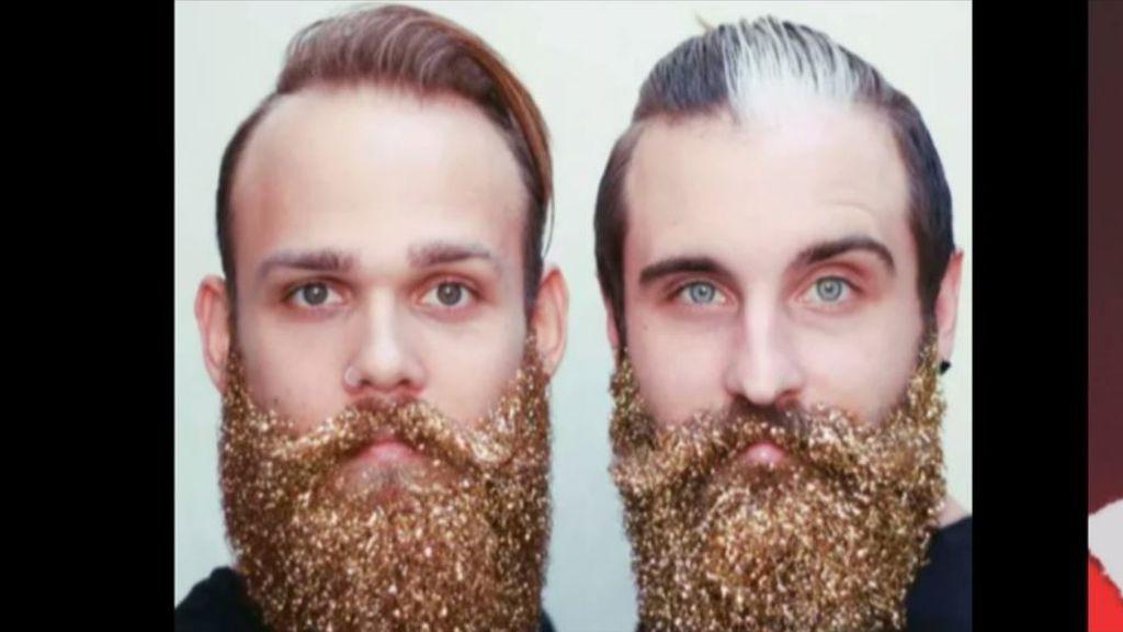 ¡Ha pasado! Las barbas con purpurina ya están aquí