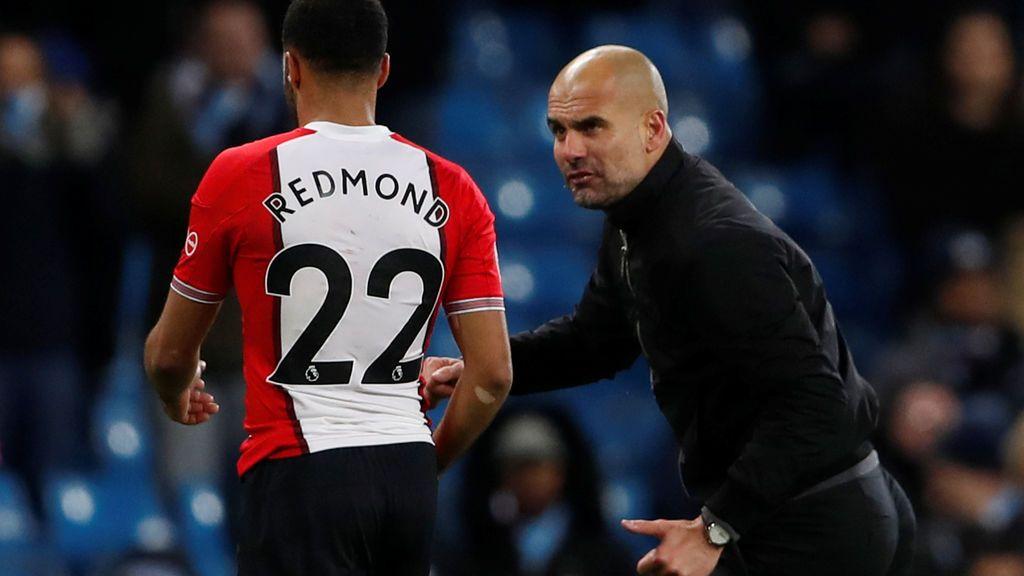 ¡Fuera de sí! Pep Guardiola se encara con un rival y está a punto de pegarle