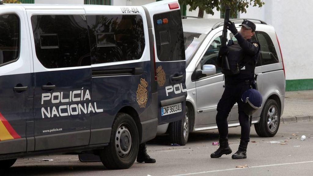 Operación policial en Algeciras