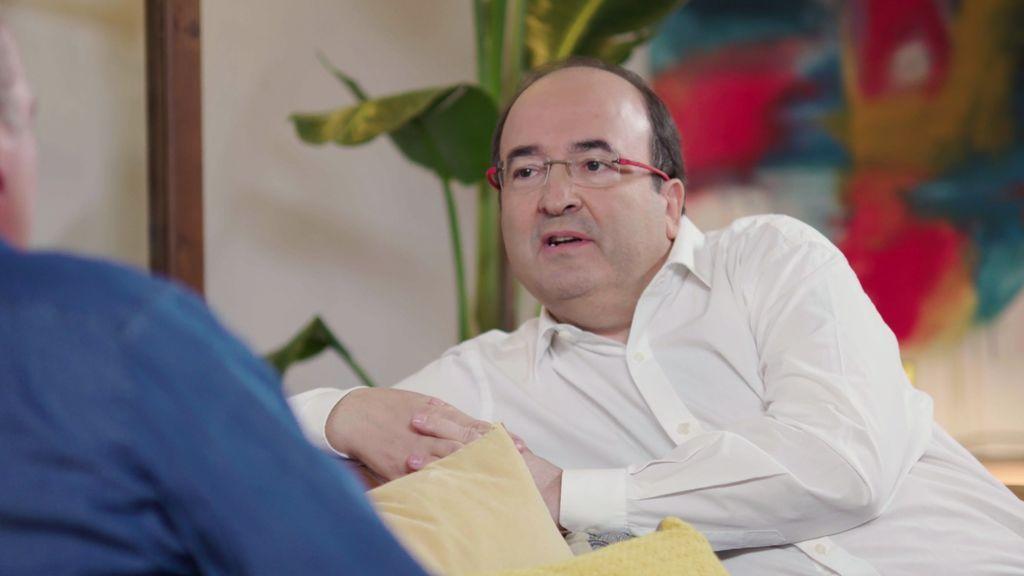 "Miquel Iceta, de Inés Arrimadas: ""Lástima que no sea de mi partido"""