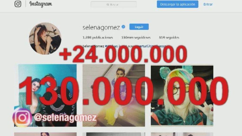 Selena Gómez vuelve a ser la reina de Instagram, pero Cristiano le pisa los  talones