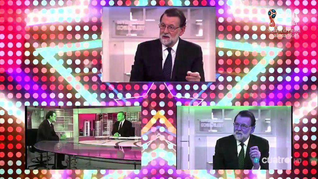 Tontimer Weber se hace un Daft Punk con la entrevista de Piqueras a Rajoy