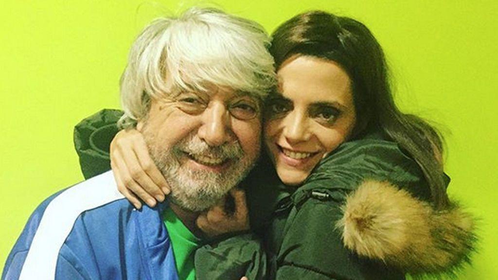 ¡Toda una familia! Macarena Gómez felicita el cumple a su suegro 'Vicente' en 'LQSA'