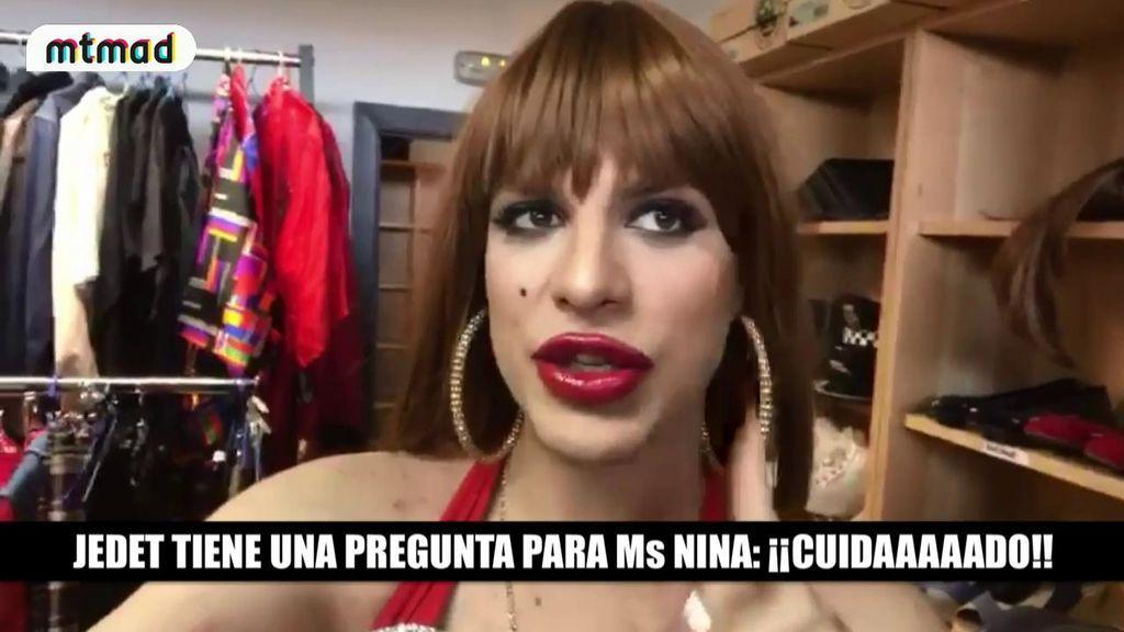 Jedet se hace la argentina imitando a la Veneno para preguntar a Ms Nina