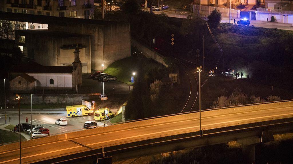 Atropellada una joven de 20 años por un tren que cubría el trayecto entre A Coruña y Monforte de Lemos