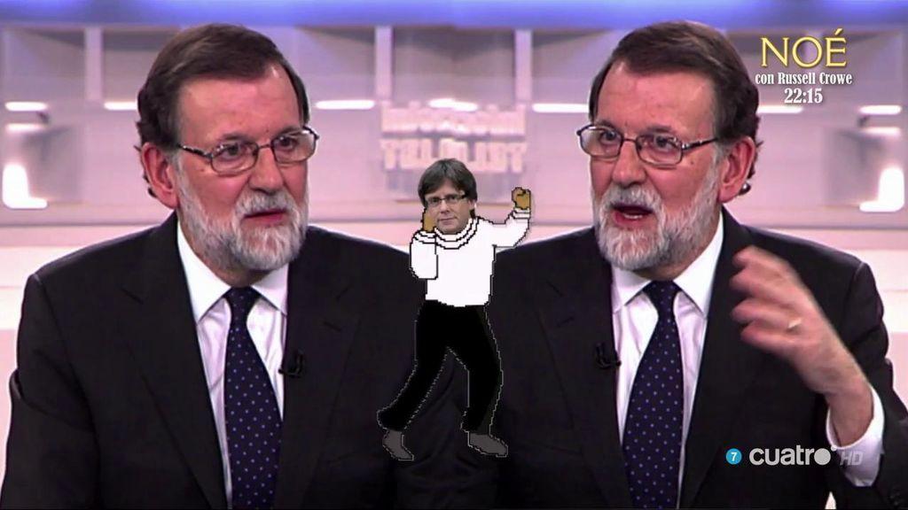 ¡Tontimer Weber lo ha vuelto a hacer! Rajoy y Puigdemont, a ritmo de 'Flashdance'
