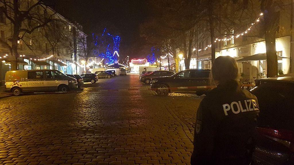 El artefacto explosivo encontrado en el centro de Postdam ya ha sido desactivado