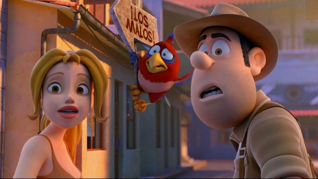 Escena de 'Las aventuras de Tadeo Jones', película de Telecinco Cinema.