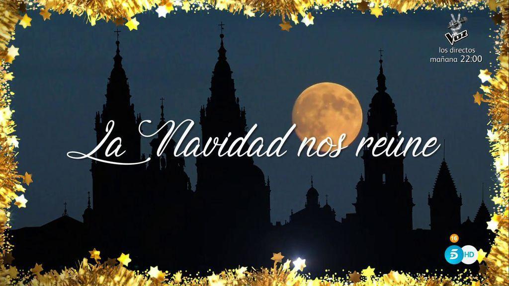 La belleza nos une, la Navidad nos reúne... ¡Mediaset España os desea Feliz Navidad!