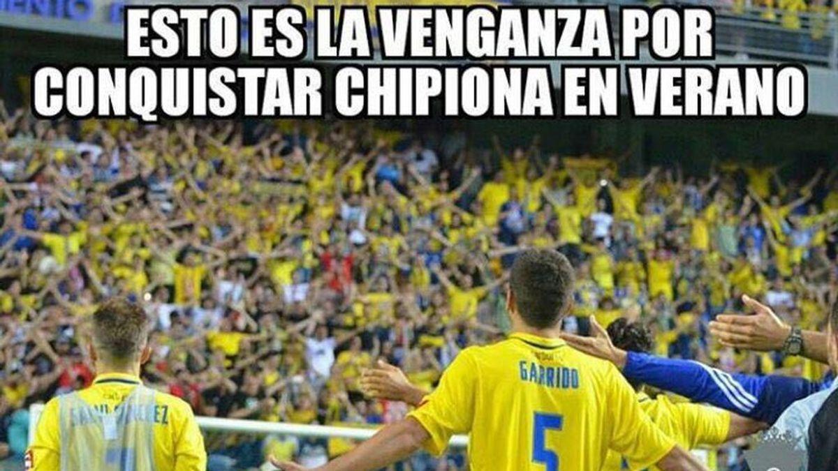 La venganza por invadir Chipiona y otros memes: el 'cachondeo gadita' en redes tras el 3-5 del Cádiz al Betis