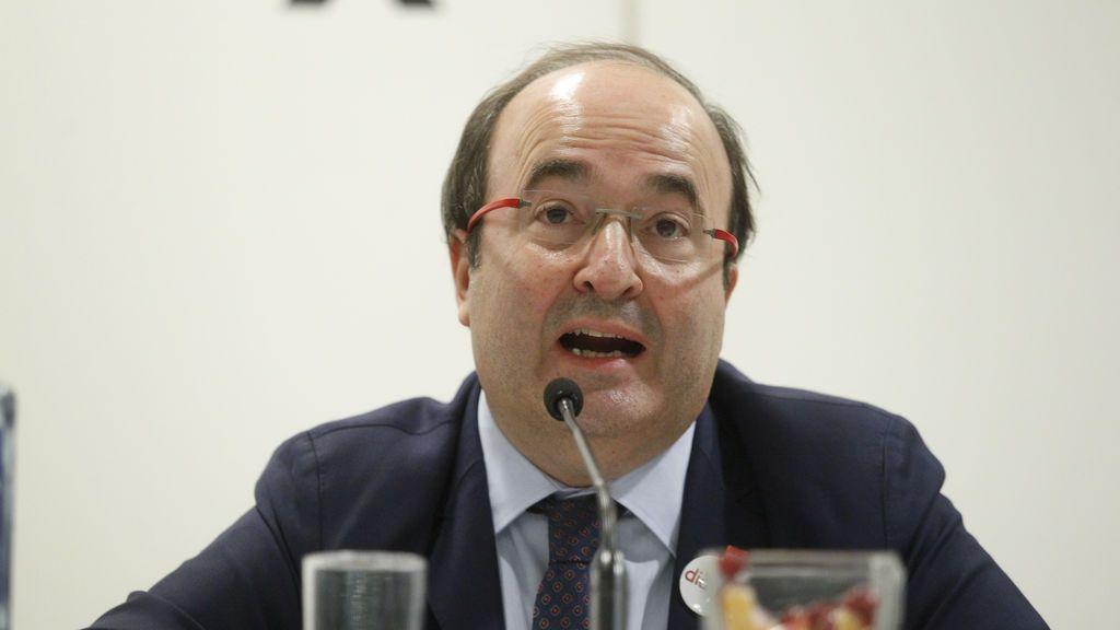 Iceta afirma que sólo el PSC demuestra que quiere mejorar la financiación catalana