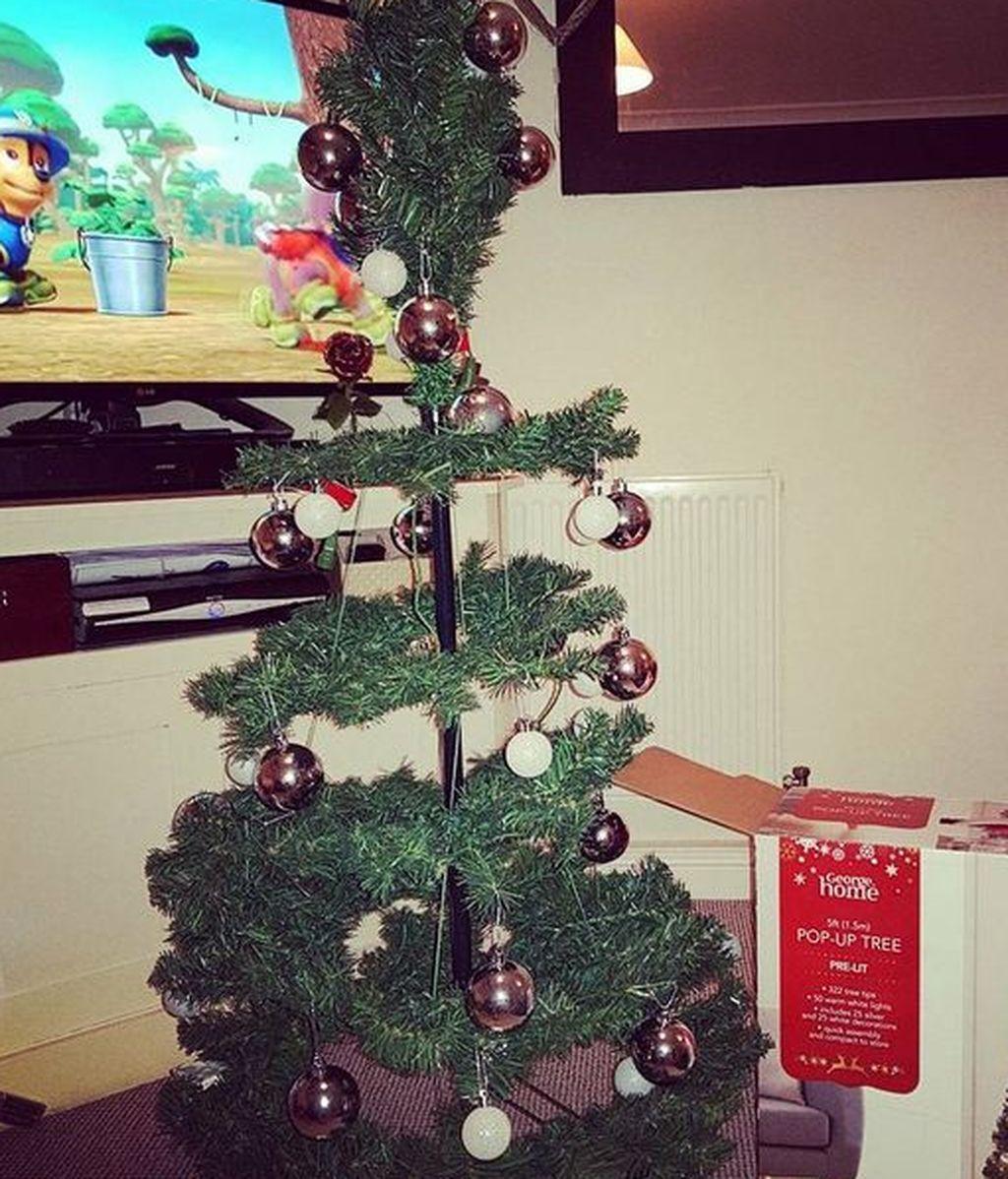 El árbol de Navidad que compró la familia de Chloe